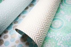new double sided chevron wrap by Smock Paper. get it while its hot.