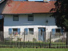 Uma casa velha na Bavaria.