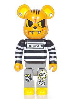 79fcd9bd Buy Tokidoki - Tiger Bearbrick by Medicom from our Lifestyle range - Multis  - @ fatbuddhastore