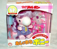 Someday I will find a Takara Pony for my own. Why do I always like the super rare and expensive things the most?