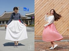 Traditional meets contemporary in modernized hanbok trend - OMONA THEY DIDN'T! Endless charms, endless possibilities ♥