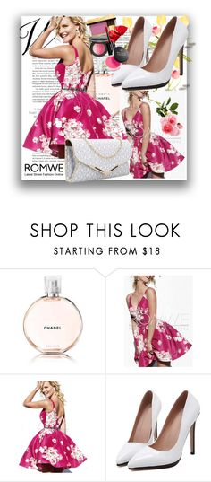 """Romwe 3"" by danijela-3 ❤ liked on Polyvore featuring Chanel and romwe"