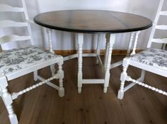 Vintage dropleaf table