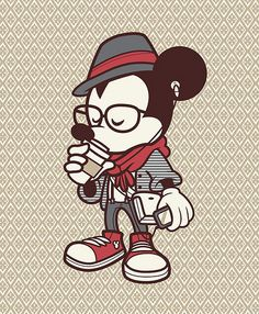 Hipster Mickey Color Variant | Flickr – Compartilhamento de fotos!