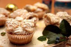Anjelské cupcakes Cupcakes, Breakfast, Desserts, Food, Basket, Morning Coffee, Tailgate Desserts, Cupcake Cakes, Deserts