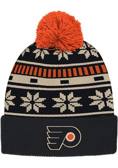 8d8b0054fee794 50% OFF | Reebok Philadelphia Black Cuffed Knit Hat Philadelphia Area, Philadelphia  Flyers,