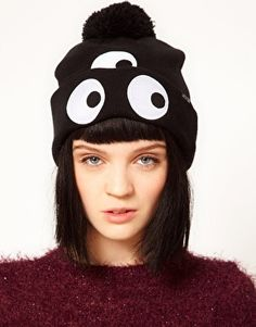a448000b Celebrities who wear, use, or own Lazy Oaf Third Eye Bobble Hat. Also  discover the movies, TV shows, and events associated with Lazy Oaf Third  Eye Bobble ...