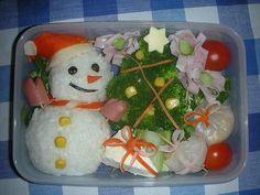Bento Box, Xmas, Lunch, Chicken, Cake, Desserts, Food, School, Ideas