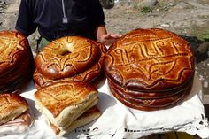 Armenian Sweet Bread (Gata).
