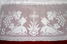 St. Anne Quilting and Sewing: Alb with Filet Crochet