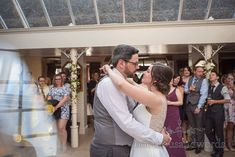 Bride and groom take their first dance at Athelhampton House wedding Wedding First Dance, Bridesmaid Getting Ready, Dance Routines, New Wife, Wedding Breakfast, Civil Ceremony, Father Of The Bride, Wedding Venues, Groom