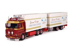Vrolijk -Tekno schaalmodellen vrachtwagens