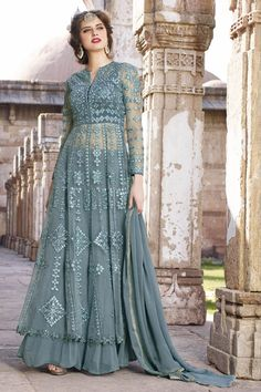 #HAPPY #JANMASHTAMI Buy This Grey Net Traditional Long Anarkali Salwar Kameez with Embroidery Work. Buy Now:- http://www.lalgulal.com/salwar-kameez/grey-net-traditional-long-anarkali-salwar-kameez-with-embroidery-work-709 Cash On Delivery & Free Shipping only in India. For Other Query Just Whatsapp Us on +91-9512150402 Or Mail Us at info@lalgulal.com.