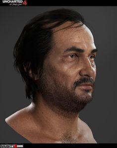 ArtStation - Vargas from Uncharted 4, adam skutt