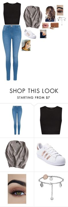 """day with lottie"" by valeria-2002 on Polyvore featuring George, MANGO, Topshop, adidas, Sephora Collection and Tory Burch"