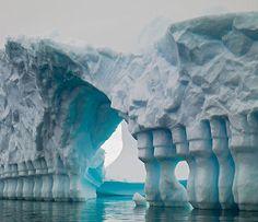 Interesting iceberg - Antarctica
