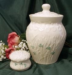 Irish parian china is considered by many to be the purest and most beautiful in the world.