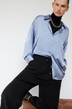 Jogger Pants, Joggers, Jogging Bottoms, Zara United States, Zara Women, Pants For Women, Style Inspiration, Blouse, Outfits