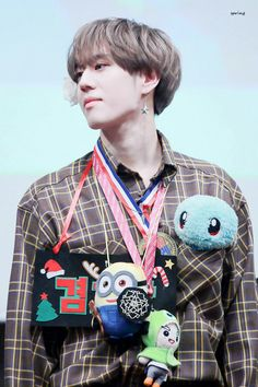 171227 Yugyeom at Busan Fansign cr: blooming_got7