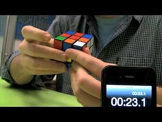 Luke IS SO FAST at solving a RUBIK'S CUBE!!!!!!!!!!!!!