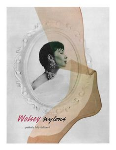 An elegant 1956 ad for Wolsey Nylons Nylons, Vintage Stockings, Nylon Stockings, Vintage Shoes, Vintage Outfits, Vintage Fashion, Dorian Leigh, Vintage Advertisements, Ads