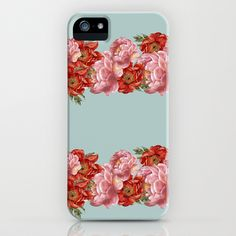 vintage floral iPhone & iPod Case by cardboardcities - $35.00