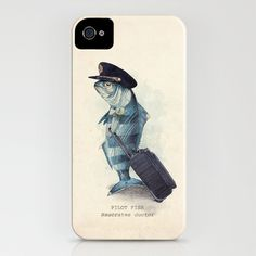 The Pilot iPhone Case by Eric Fan
