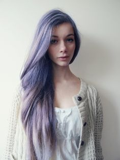 soft violet hair | Tumblr