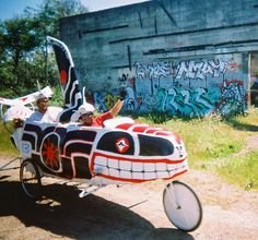 Alternatives to Building Weapons for the Military: Kinetic Sculpture Race Eureka, California