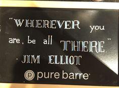 Chalk quote - Jim Elliot
