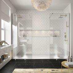 Bathroom Design Trends 2019 Modern Bathroom Trends 33 Trending Bathroom Ideas For 2019 in ucwords] Bathroom Design Luxury, Bathroom Layout, Modern Bathroom Design, Bathroom Remodel Cost, Bathroom Renovations, Decorating Bathrooms, Budget Bathroom, Inspiration Design, Bathroom Inspiration