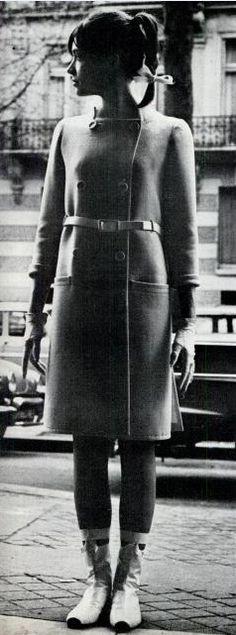 Francoise Hardy, Courreges, 1965
