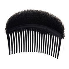 JEYL 2X Black Hair Styler Volume Bouffant Beehive Shaper Bumpits Bump Foam #BouffantHairBeehive