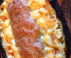 Rezept Hackbraten mit Sahnekartoffel von magenta12 - Rezept der Kategorie Hauptgerichte mit Fleisch