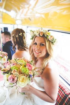Flower Crowns, Peach and Pastel Pretty Details...