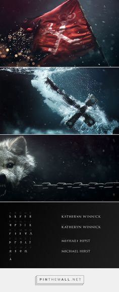motion graphic Vikings Main Title Sequence ( Pitch ) on Behance. - a grouped images Art Of The Title, Title Sequence, Branding, Photoshop, Visual Effects, Motion Design, Graphic Design Illustration, Motion Graphics, Art Direction
