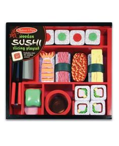 Melissa and Doug Kids Toys, Sushi Slicing Playset