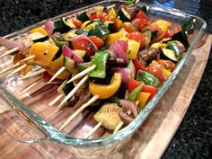 Love it? Pin it! (Just click the photo) Follow Spend With Pennies on Pinterest for more great recipes! The perfect side dish for any grilling!! Love these yummy skewers! You can use any veggies you like… and sometimes I even add in fruit like pineapple for my kids! If you use veggies that take aContinue Reading...