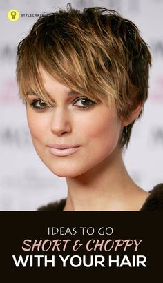 Very Short Hair Ideas & Pixie Cut 2018 - Styles Art Short Choppy Hair, Very Short Hair, Cute Hairstyles For Short Hair, Short Hair Cuts For Women, Short Hair Styles, Short Haircuts, Choppy Hairstyles, Long Bangs, Short Cuts