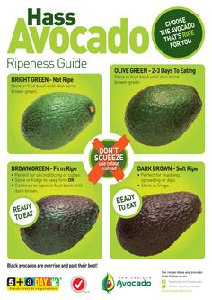 How To Choose Ripe Avocado - Video Tutorial - The WHOot recipes salad smoothie toast farci noyau recette salade Healthy Snacks, Healthy Eating, Healthy Recipes, Vegetarian Recipes, Cooking Tips, Cooking Recipes, Food Tips, Cooking Pasta, Cooking Cake