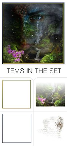 """""""Surreal Tears;"""" by princessrachie ❤ liked on Polyvore featuring art, nature, artset and surreal"""