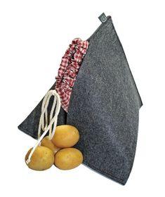Kartoffelwärmer / Gschwellti-Säckli aus Filz   Etsy Cloth Bags, Dark Red, Bag Making, Birthday Gifts, Cotton Fabric, Felt, Etsy, Color, Original Gifts