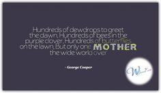 George Cooper Mother's Day Quotes