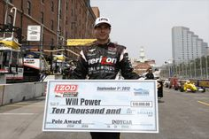 Will Power, Grand Prix of Baltimore Pole Winner.