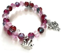 Check out this item in my Etsy shop https://www.etsy.com/listing/212688391/alice-in-wonderland-pink-silver-wrap