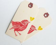 stamped cards for gifts