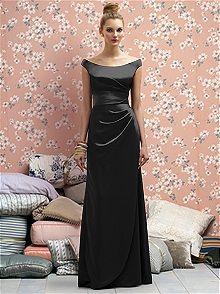 Lela Rose LR177 #black #bridesmaid #dress