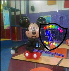 Arreglo de globos mickey