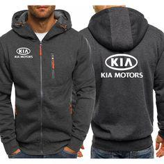 Hoodies Men KIA Car Logo Print Casual Hip Hop Harajuku Long Sleeve Hooded Sweatshirts Mens zipper Jacket Man Hoody Clothing Price: 33.00 & FREE Shipping #hashtag4 Hoodie Sweatshirts, Auto Logo, Streetwear, Hip Hop, Harajuku, Winter Hoodies, Cheap Hoodies, Quality T Shirts, Shorts