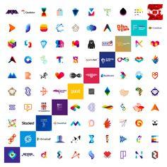Logo design portfolio, 10 years, 100 logos, Alex Tass